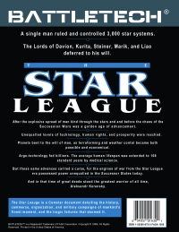 The Star League Cover